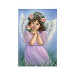 Angel of the Earth Rectangle Magnet