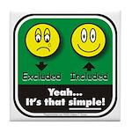 It's That Simple! Tile Coaster