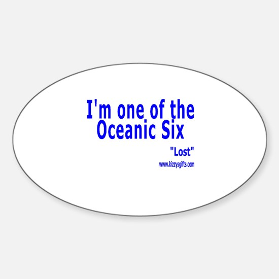 SIX Oval Decal