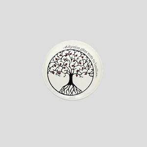 Adoption Roots Mini Button