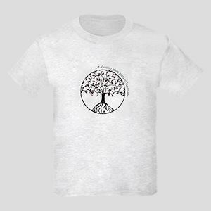 Adoption Roots Kids Light T-Shirt