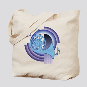 French Horn Deco2 Tote Bag