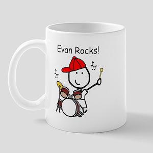 Drum Set - Evan Mug