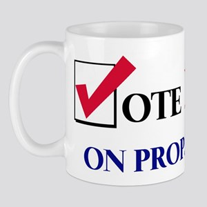 Vote NO on Prop 65 Mug