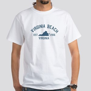 Virginia Beach VA White T-Shirt