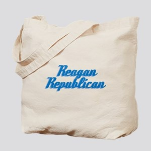 Reagan Republican (blue) Tote Bag