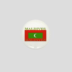 Maldives Mini Button