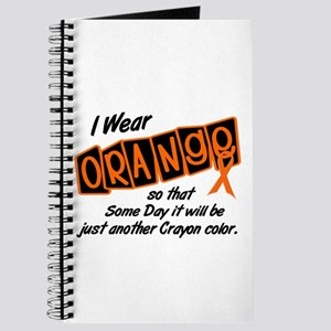 I Wear Orange To Be A Crayon Color 8 Journal