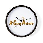 CompAnimals Logowear Wall Clock