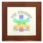 Paramedic Mom Framed Tile