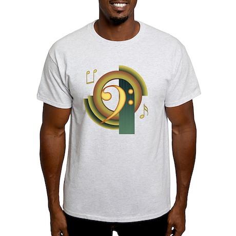 Bass Clef Deco Light T-Shirt