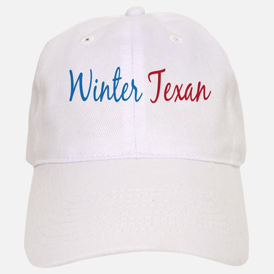 Winter Texan Baseball Baseball Cap