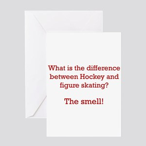 The Smell-red Greeting Card