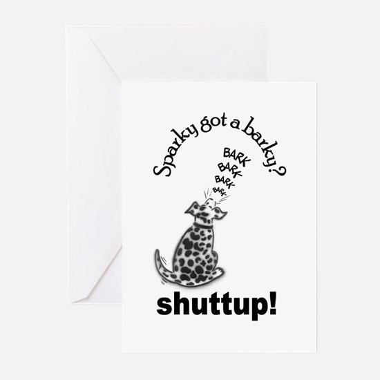 sparky got a barky greeting cards (Pk of 10)