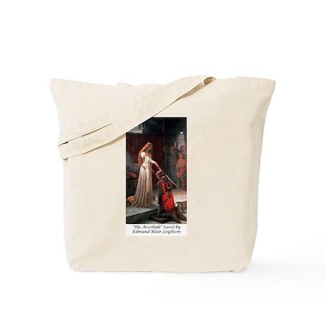 "Edmund Blair Leighton's ""The Accolade"" Tote Bag"