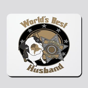 Top Dog Husband Mousepad
