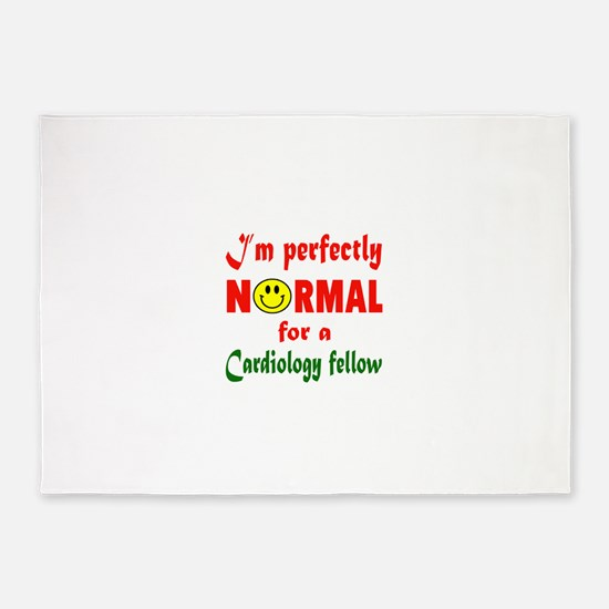 I'm perfectly normal for a Cardiolo 5'x7'Area Rug