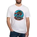 USS HORNET Fitted T-Shirt