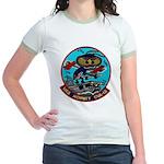 USS HORNET Jr. Ringer T-Shirt