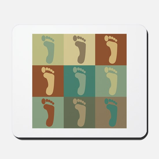 Podiatry Pop Art Mousepad