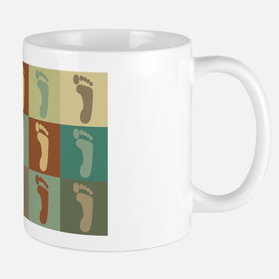 Podiatry Pop Art Mug