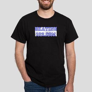 skating102.com-blue Dark T-Shirt