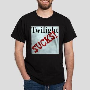TWILIGHT SUCKS Dark T-Shirt