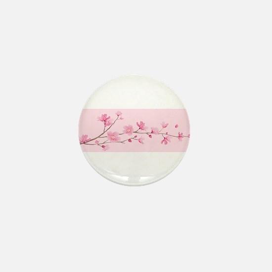 Cherry Blossom - Rose Quartz Mini Button