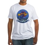 USS HORNET Fitted T-Shirt