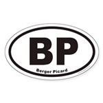 Berger Picard BP Euro Oval Sticker
