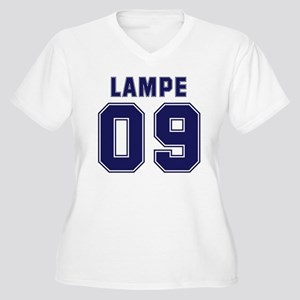 Lampe 09 Women's Plus Size V-Neck T-Shirt