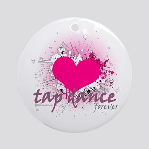 Love Tap Dance Forever Ornament (Round)