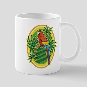 Tropical Parrot Mug