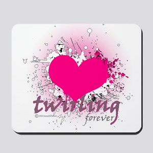 Love Twirling Forever Mousepad