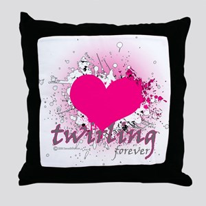 Love Twirling Forever Throw Pillow