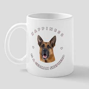 Happiness is a German Shepherd! Mug