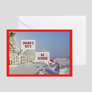 Obama's nuts funny anti Obama Christmas Cards