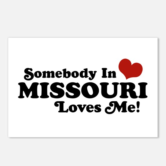 Somebody In Missouri Loves Me Postcards (Package o