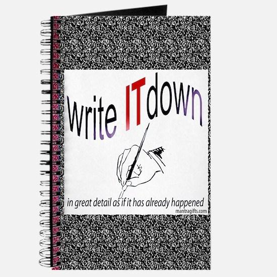 Write it down Journal