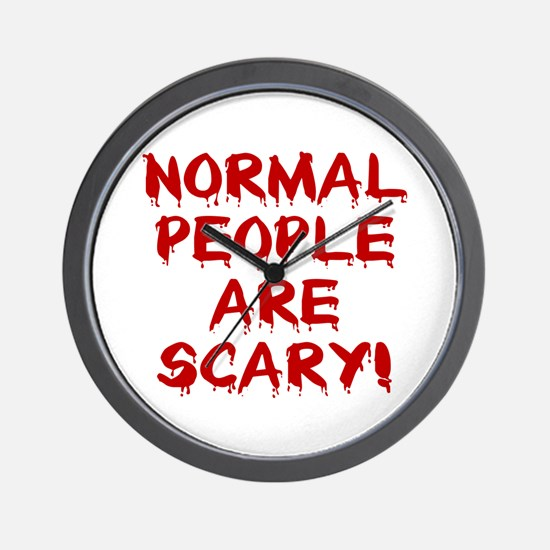 NORMAL PEOPLE ARE SCARY! Wall Clock