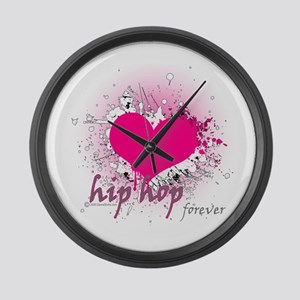 Love Hip Hop Forever Large Wall Clock