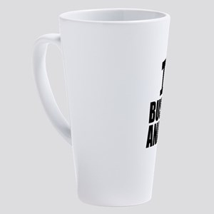 I Love Business Analysis 17 oz Latte Mug