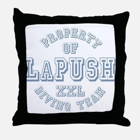Property of LaPush Diving Team Throw Pillow