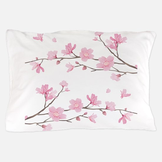 Cherry Blossom Pillow Case