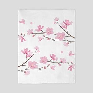 Cherry Blossom Twin Duvet Cover