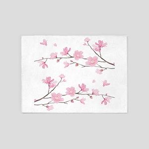 Cherry Blossom 5'x7'Area Rug