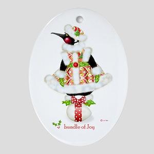 Bundle of Joy Oval Ornament