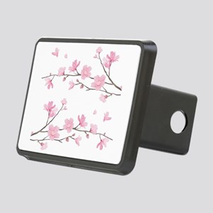 Cherry Blossom Rectangular Hitch Cover