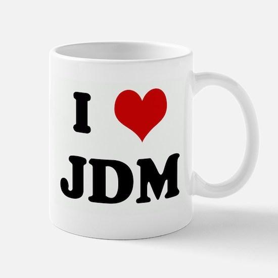 I Love JDM Mug