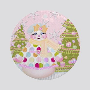 Sno Cute! Ornament (Round)